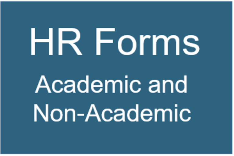 Image of HR Forms box